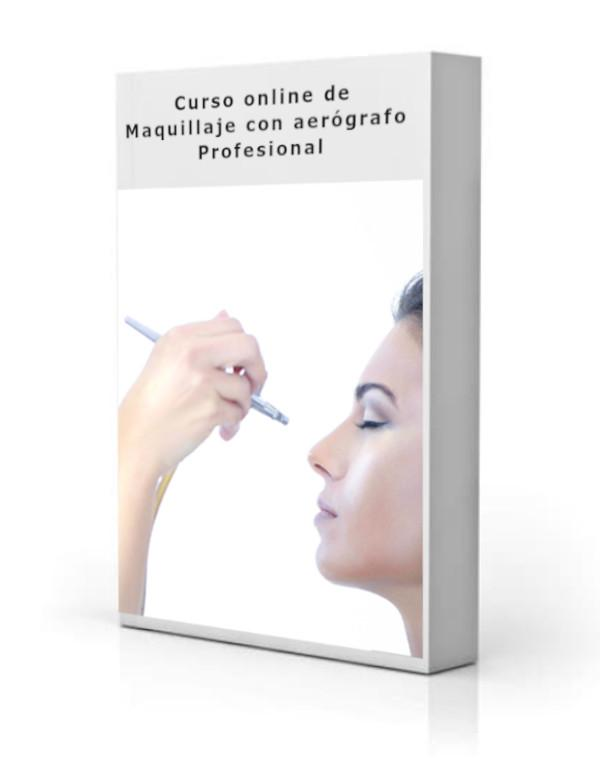 Curso Online Maquillaje con Aerógrafo para profesionales