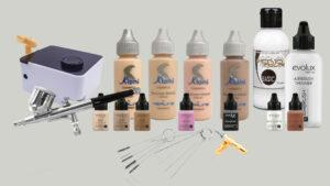 Qué materiales necesitas para tu Curso Online de Maquillaje con Aerógrafo