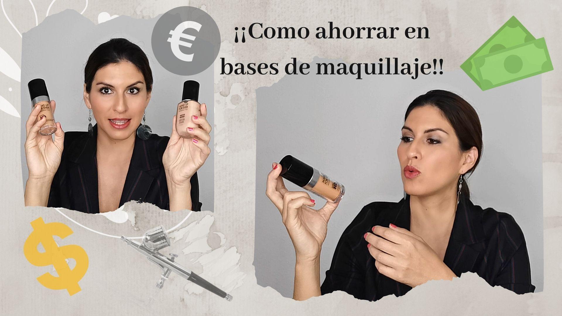 Cómo ahorrar en bases de maquillaje